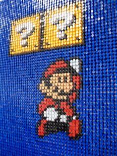 Pushpin Mario. Mario is een spel die ik vooral op de basisschool heel vaak speelde op mijn Nintendo DS.
