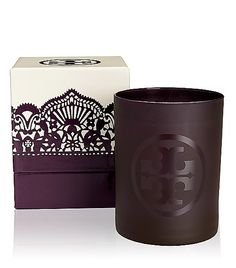 Tory Burch 2012 Holiday candle