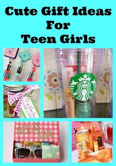 Cute gift ideas for teen girls...