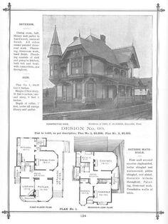 Victorian House Plans, Vintage House Plans, Victorian Homes, Sims House Plans, Dream House Plans, House Floor Plans, Milton House, Extravagant Homes, House Plans With Pictures