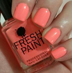 "2 coats Fresh Paint ""Guava"""