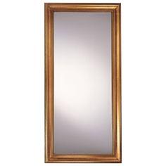 """Minka Ambience 79"""" Rectangular Mirror in Castillian Gold - 56400-628"""