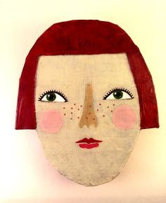 Rose is a darling girl. She has red, and I mean RED, hair with matching freckles and sparky green eyes. Pale pink cheeks and serious eyelashes