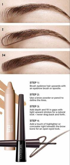 comment dessiner ses sourcils, accent sur les sourcils naturels dans un maquillage discret