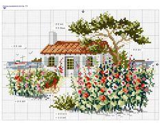 Casa entre flores1