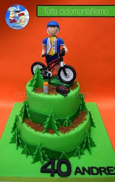 Torta Ciclomontañismo - Mountaineering Cake