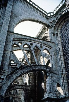 clerestory flying buttress chartres cathedral chartres eure et loire france. Black Bedroom Furniture Sets. Home Design Ideas