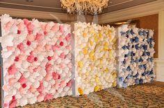 Paper Flower Backdrops