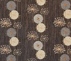 Upholstery Fabric by the Yard, Chenille, Daisy Eclipse, Botanical Design, Main color - brown The House of Fabric http://www.amazon.com/dp/B00LAEW22E/ref=cm_sw_r_pi_dp_WSpqwb09KPJ3H