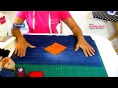 Passo a Passo Como Fazer Um Tapete Com Camiseta Velha - Ivone Müller - YouTube