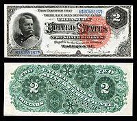 U S Two Dollar Bill United States Two Dollar Bi Bi Bill Dollar Dollarbills States Twodollar United Wertpapiere Geldscheine Geld