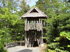 Stick Tree House