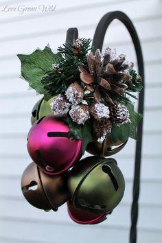 Jingle Bells on a Garden Hook