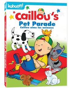 Caillou aime les animaux DVD