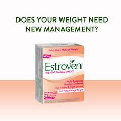 Does your weight need new management? Try Estroven Weight Management #Weight #Menopause #Original