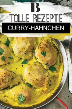 Curry-Hähnchen - Another! Middle East Food, Jamie Oliver, Holiday Recipes, Nom Nom, Spaghetti, Form, Food And Drink, Low Carb, Tasty