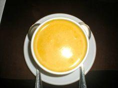Pumpkin Soup Recipe served at Tonys Town Square in Magic Kingdom at Disney World