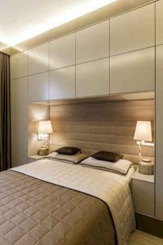 Modern Bedroom storage - Bedroom Design Ideas 8 Ways To Create The Ultimate Bed Surround With Storage. Closet Bedroom, Bedroom Bed, Bedroom Apartment, Bedroom Decor, Apartment Therapy, Bedroom Furniture, Furniture Ideas, Bedroom Lighting, Girls Bedroom