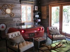 Eclectic Living Room by HER Designs
