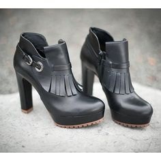 Be ready to standout in a pair of platform shooties from #townshoes