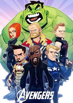 #Avengers #Fan #Art. (Avengers) By: MaxGrecke. [THANK U 4 PINNING!!]