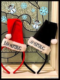 My 🎅Bah Humbug🎅 by . Size  for $$8.00: http://www.vinted.com/accessories/accessories-hair-accessories/24529625-bah-humbug.