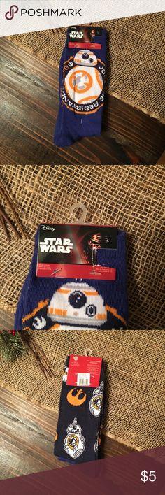 Star Wars Socks NWT Star Wars Crew Socks! 2 pair total. Happy Poshing! Accessories