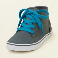 shoes - shoes - bold mid-top sneaker | Children's Clothing | Kids Clothes | The Children's Place