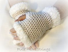 Fingerless Gloves. Gloves. Wrist Warmers. by PixieHeartStrings, $24.00