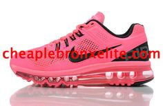 Nike Air Max 2013 Womens Pink Black 555363 601