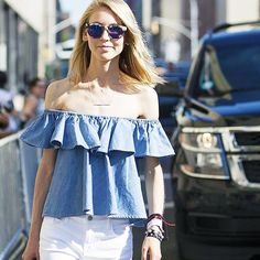 13 Outfit Ideas From NYC Fashion Editors via /WhoWhatWear/
