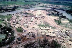 Aerial view of Hill 37, Dai Loc, Quang Nam Province, Spring 1969