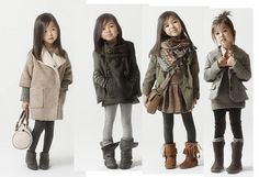 <3 Cute little girl clothes for winter