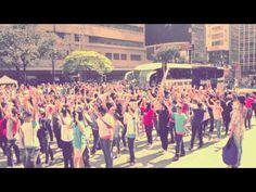 FLASH MOB GOSPEL OFICIAL 2012 - YouTube