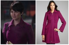 "Nanette Lepore Provocative Coat as seen on Mary Margaret Blanchard in episode 1x12 ""Skin Deep""  (No longer available)"