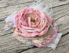 Flower Girl couture headband