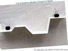 MEILLEUR TOP 3 ETAGERES MURALES DESIGN EN METAL. MAI 2015
