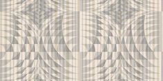 Shattered (1954/939) - Prestigious Wallpapers - A stunning retro design with geometric images of glass circles, dissected by vertical lines - showing in string grey with metallic gilver on a white background. Please request a sample for true colour match. Other colours ways available. Paste-the-wall.
