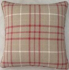 A 16 Inch Cushion Cover In Laura Ashley Keynes Cranberry Fabric
