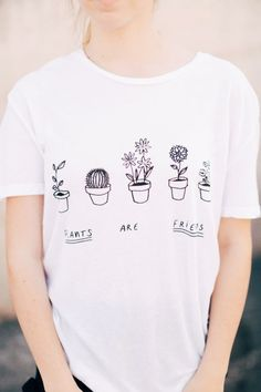Brandy ♥ Melville | Nikola Plants Are Friends Top - Graphics