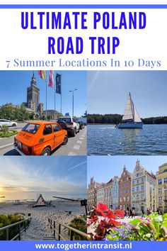 An Ultimate Poland Road Trip is an experience that everyone should enjoy at least once. These 7 beautiful summer locations are all worth visiting within a 10 day route and we hope it inspires you! Poland Road Trip | Krakow | Warsaw | Mragowo | Poznan | Kolobrzeg | Gdynia | Gdansk | Masurian Lake District | Polski | 10 Day road trip