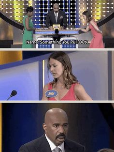 """And even when Steve's mustache started to frown. 