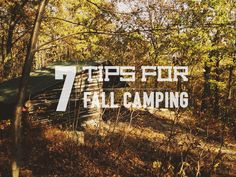 Autumn can be an amazing time to spend a night or two in a tent. Of course, there are a few things you'll want to think about before you head out for a fall camping trip.