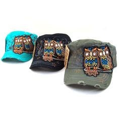 Who doesn't love owls?  Who wouldn't want an owl hat?  :: :: :: WELCOME TO ALBAHANDBAG.COM :: :: :: YOUR ONE STOP HANDBAG CENTER :: :: ::