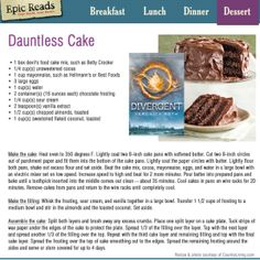 OH my god Dauntless cake I need to eat this and have friends over and fangirl about the book!!