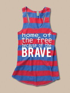 Perfect tank for July 4!!!