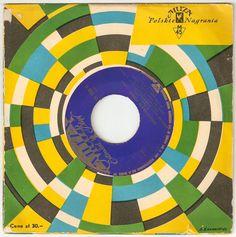 Vintage Polish Record Cover