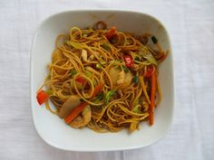 Chicken Lo Mein Recipe #noodle #lomein #Chinesefood