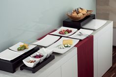 The lively design of Emotion by #BAUSCHER enhances gastronomic creativity & showcases culinary delights in an inviting way
