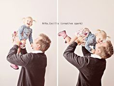60 Ideas For Photography Poses Dance Photo Ideas Father Daughter Poses, Daddy Daughter Pictures, Father Daughter Photography, Studio Portrait Photography, Photography Photos, Couple Photography, Children Photography, Portrait Poses, My Family Photo